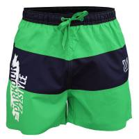 Plavky Parkour Lifestyle zeleno-modré