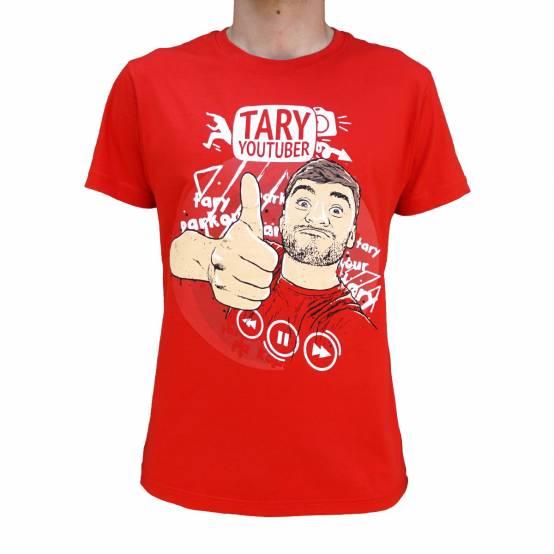 Tričko Youtuber Tary Červené