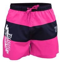 Plavky Parkour Lifestyle Růžovo-modré