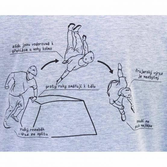 Tričko pro parkour Tary Tutoriály