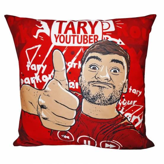 Polštář Tary Youtuber