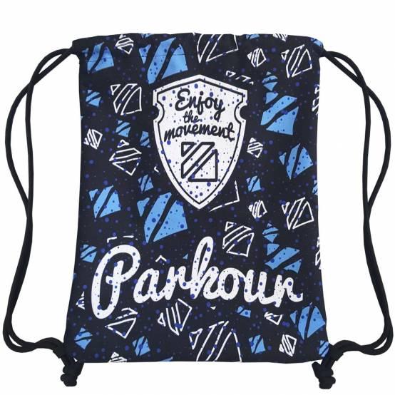 Sportovní Vak Parkour loga pro parkour