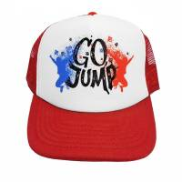 Kšiltovka Go Jump Červená