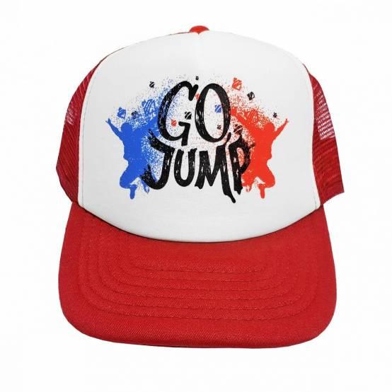 Kšiltovka Go Jump Červená pro parkour