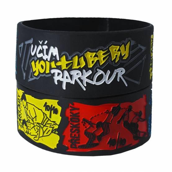 Náramek Učím YouTubery Parkour pro parkour