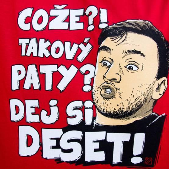 Tričko pro parkour Takový Paty