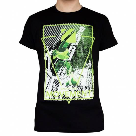 Tričko Green Flips Černé
