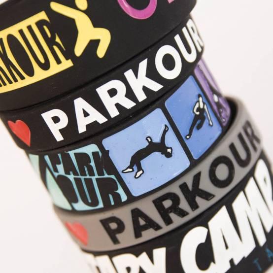 Sada 6 Dětských Náramků pro parkour