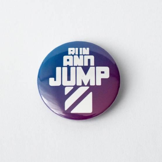 Odznáček Run and Jump pro parkour
