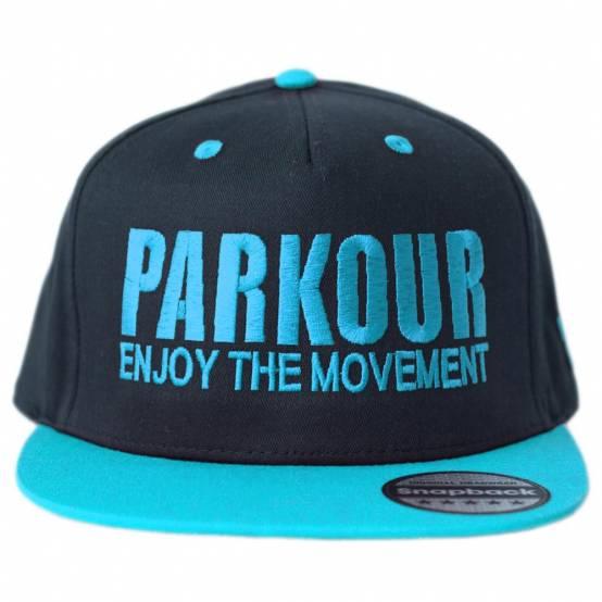 Snapback Parkour Modrý pro parkour