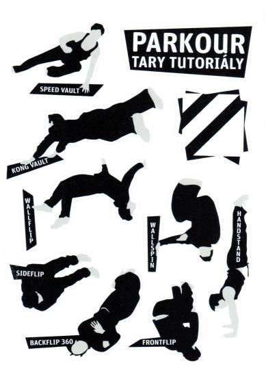 Samolepky Tary Tutoriály pro parkour