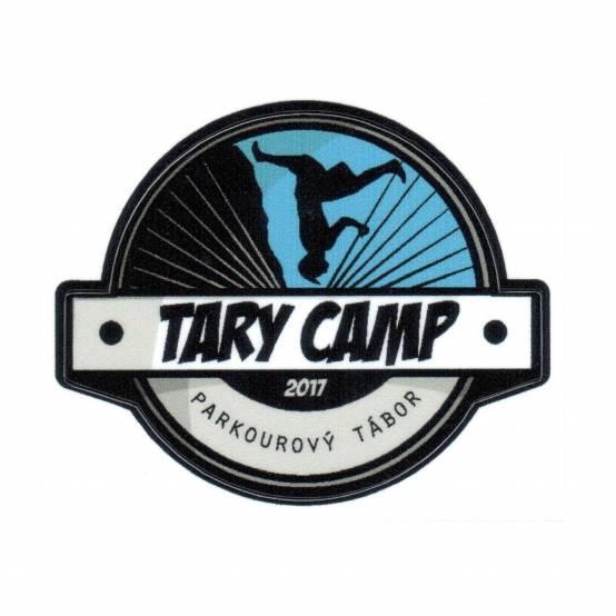 Samolepka Logo Tary Camp pro parkour