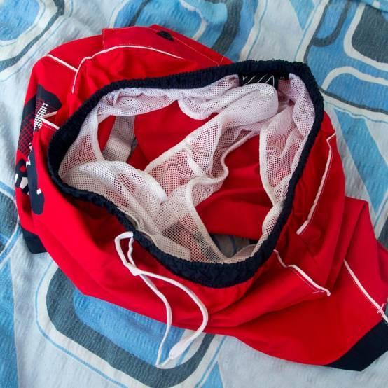Plavky Parkour Červené pro parkour