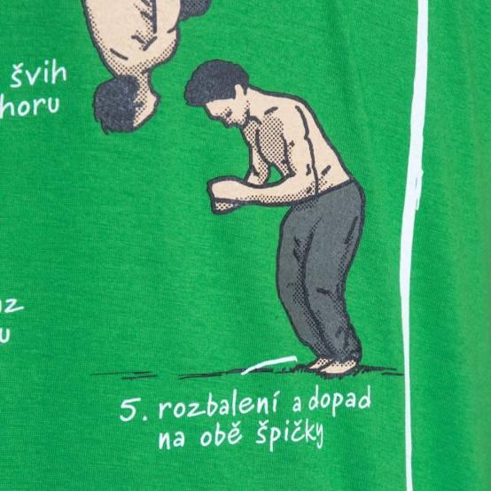 Tričko pro parkour Naučíš mě Backo