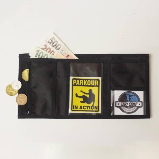 Peněženka Enjoy the Movement pro parkour